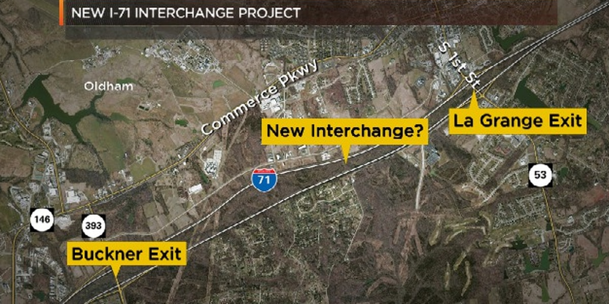 New exit could be added to I-71 in Oldham County