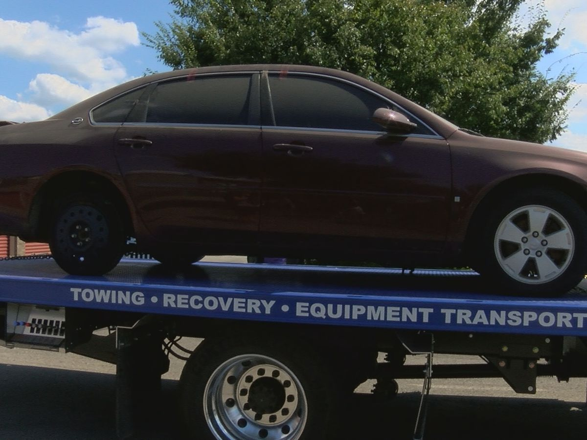 FBI tows Crystal Rogers' car from storage unit