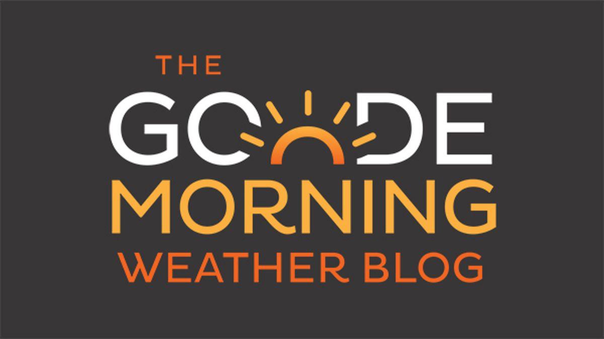 Goode Morning Weather Blog: Wednesday Update