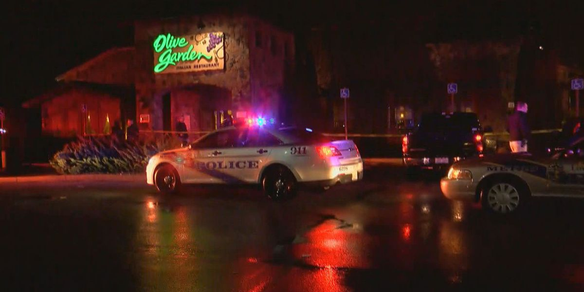 One dead after shooting in Outer Loop Olive Garden