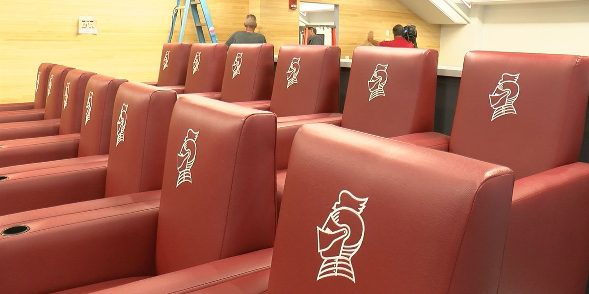 Bellarmine locker room remodel includes project from prison inmates