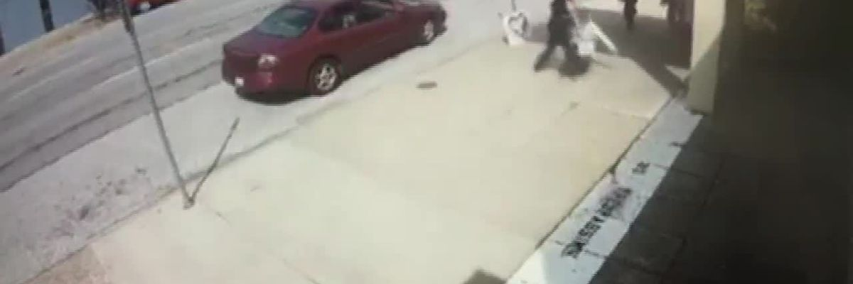 Kentucky Courts provides surveillance video showing incident outside EMW Women's Surgical Clinic