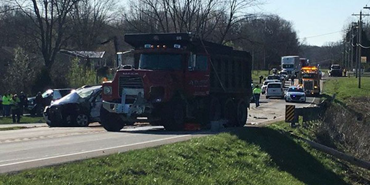 1 killed, 1 injured in Jennings County, Indiana crash
