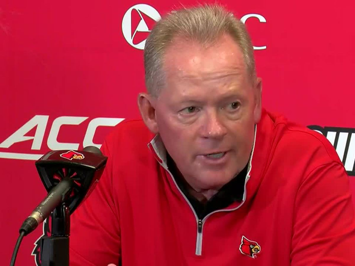 Petrino says UofL loss at UVA 'hard to watch'
