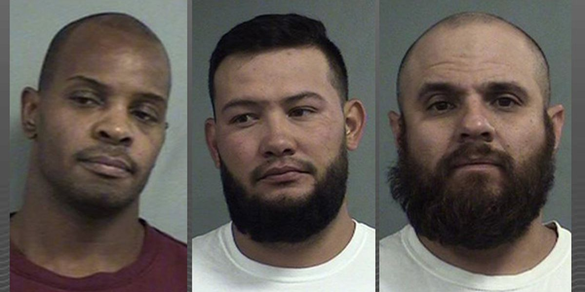 KSP and LMPD assist in arrest of three men in an ongoing federal investigation