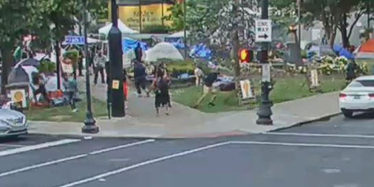 LMPD: Video shows murder suspect take gun from protester prior to shooting in Jefferson Square Park