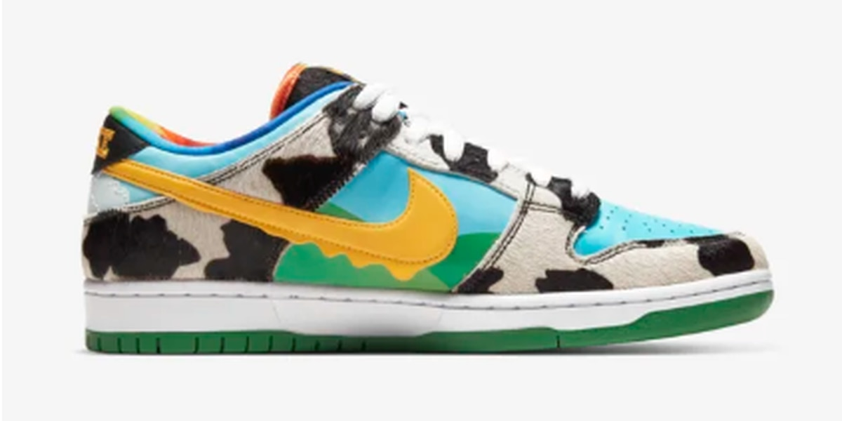 Nike releases a shoe to honor Ben & Jerry's