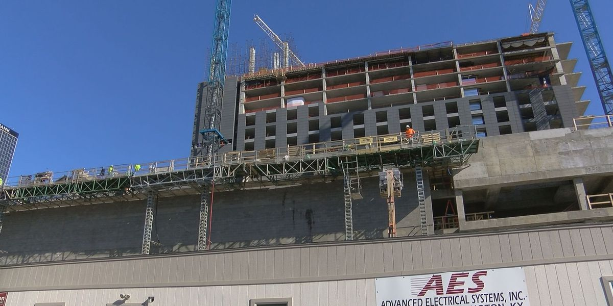 SLIDESHOW: Omni Hotel takes shape as construction continues
