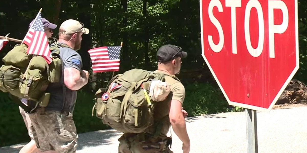 Veterans walk 120 miles across Indiana to combat suicide rates