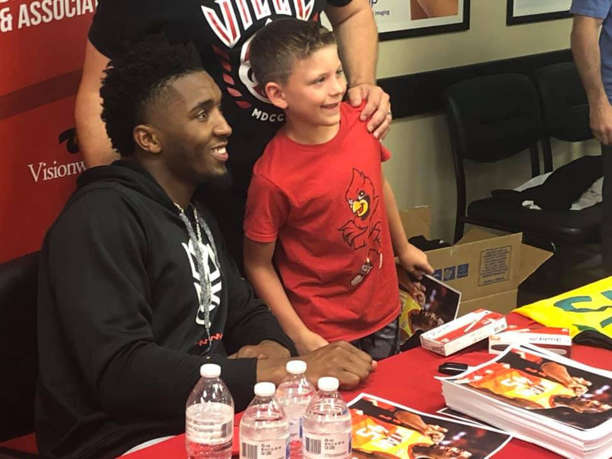 Former Card, Donovan Mitchell Comes to Town
