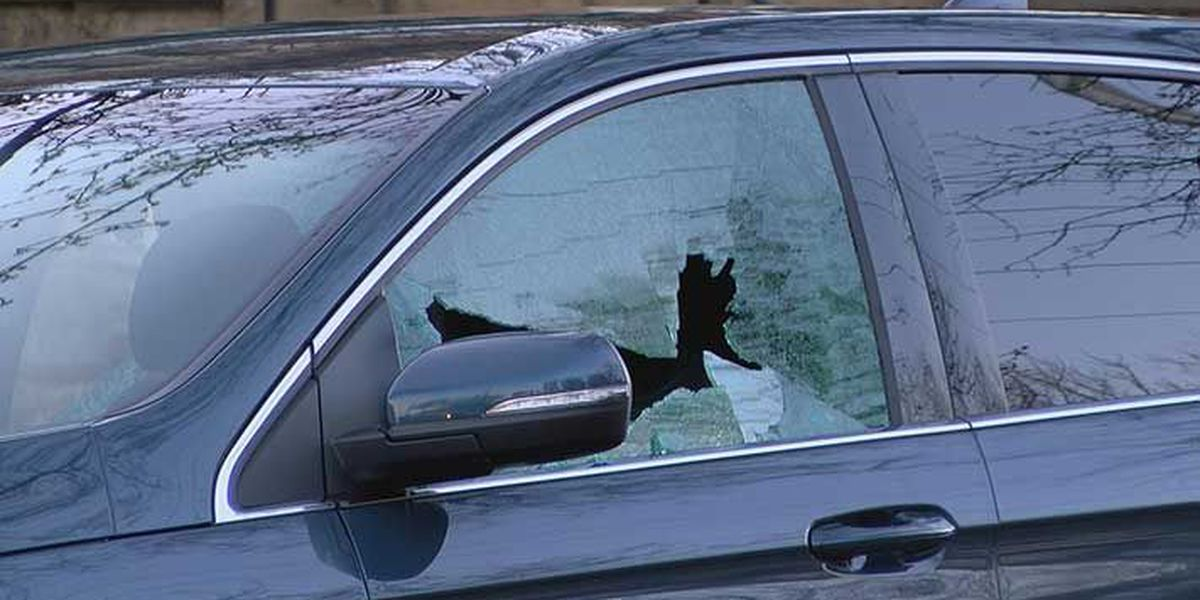 Woman grazed in head by bullet while driving on Fourth Street