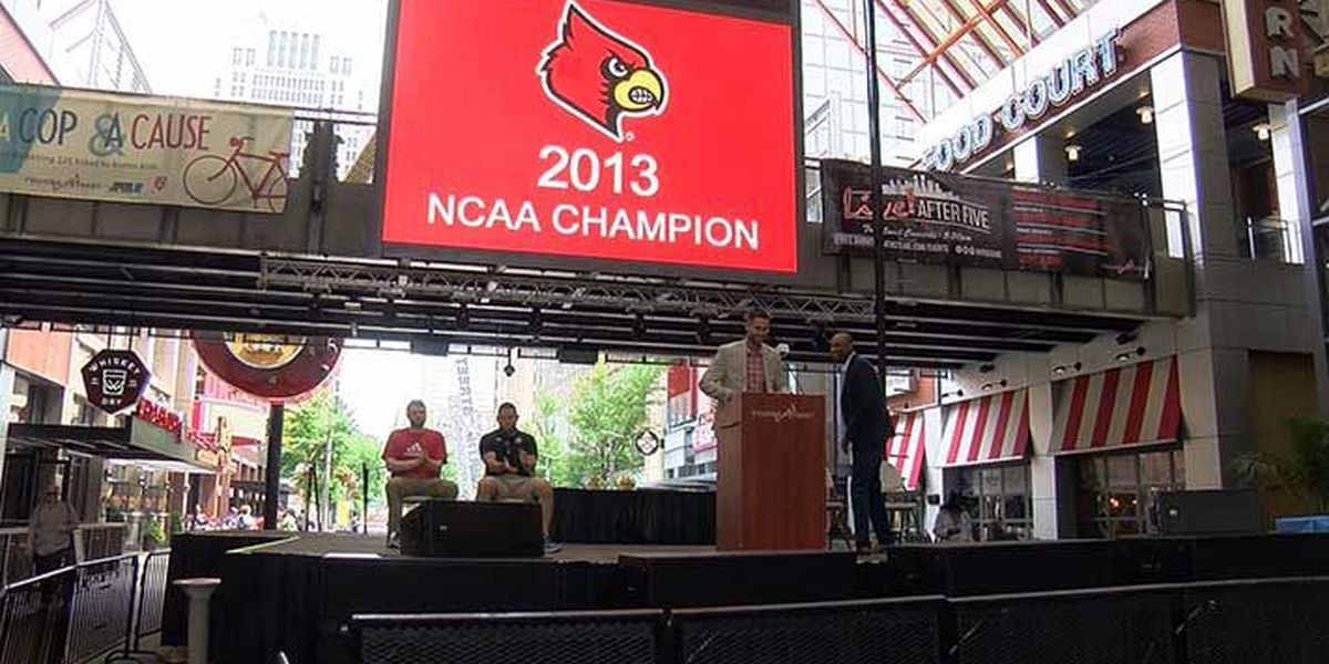 UofL 2013 championship team getting back together to 'Rise Above'