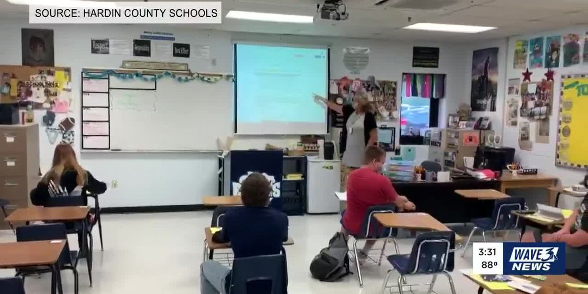 Hardin County Schools return to in-person instruction