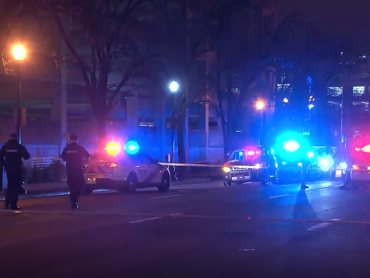 Shooting investigation underway downtown