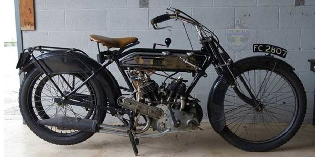 Extremely rare motorcycle stolen from Louisville restoration business found