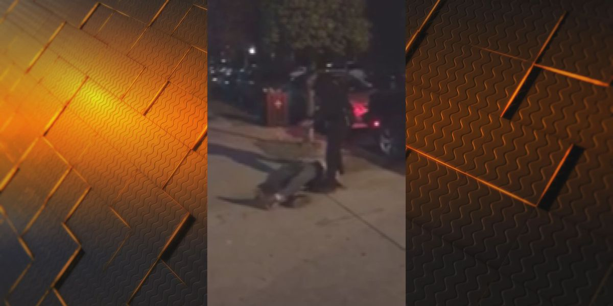 LMPD officer who knocked handcuffed suspect to ground cleared of wrongdoing