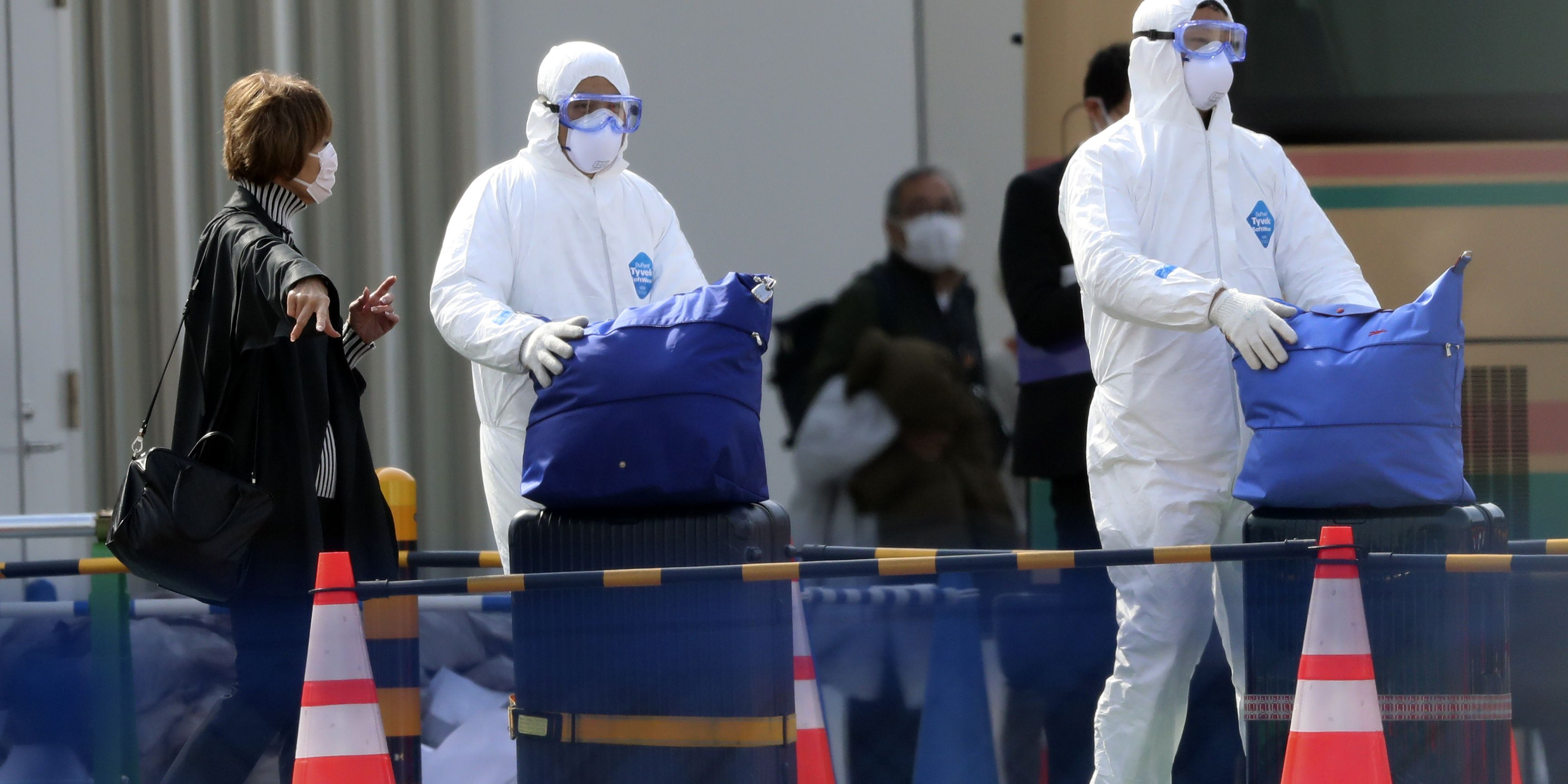 South Korea reports 1st coronavirus death as 2.5M urged to stay home