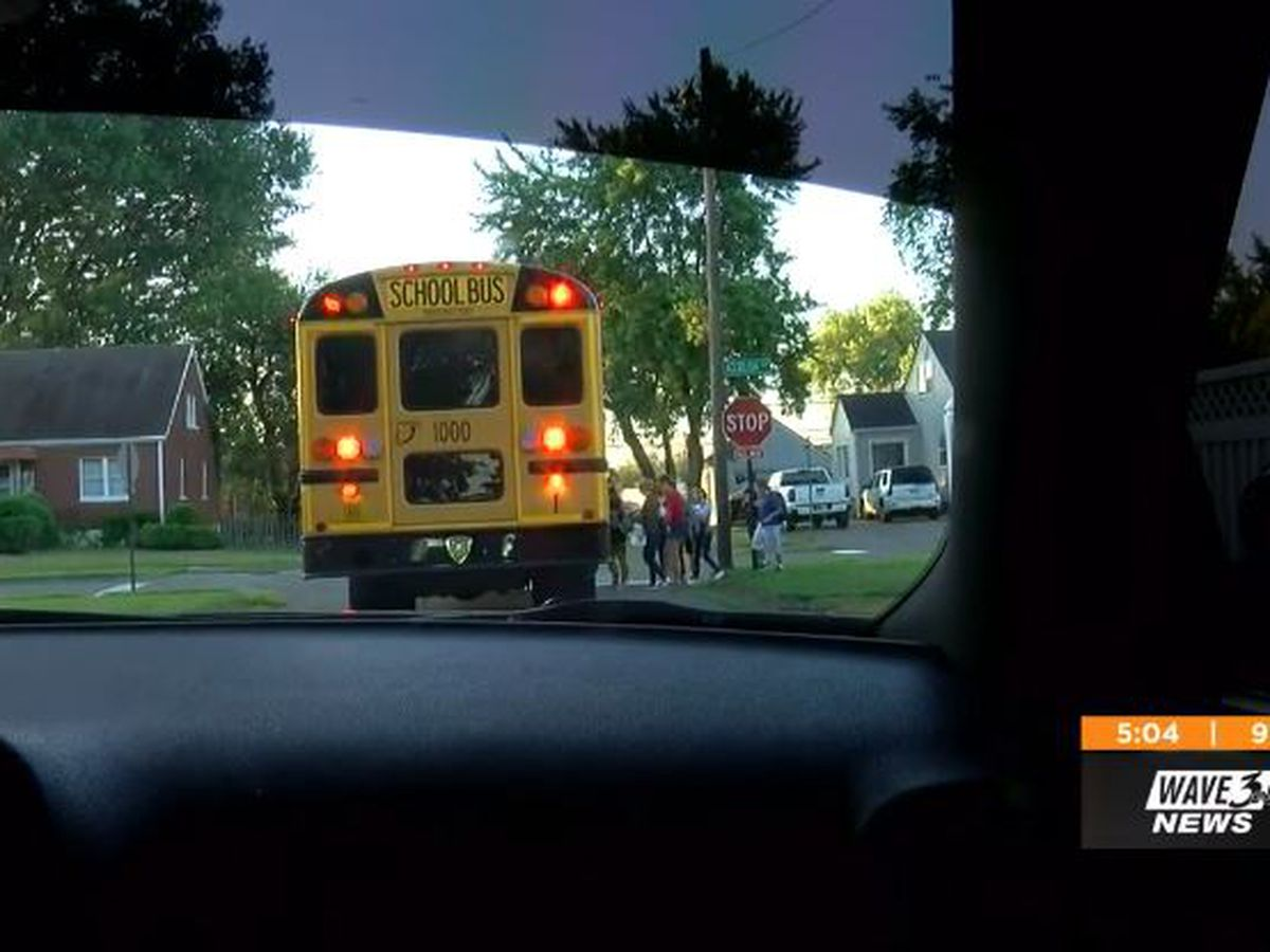 Clarksville police patrol bus routes, cracking down on drivers trying to illegally pass