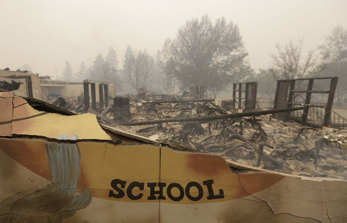 Teacher Bus Drivers Evacuated Students Amid California Fire