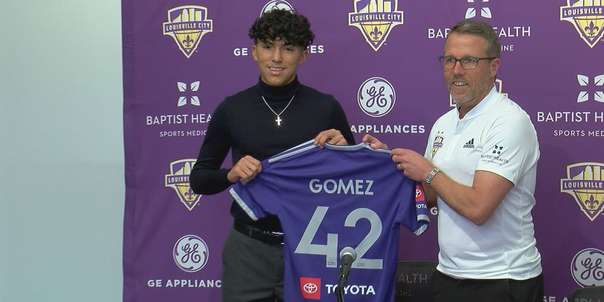 Louisville City FC signs 16-year-old Gomez