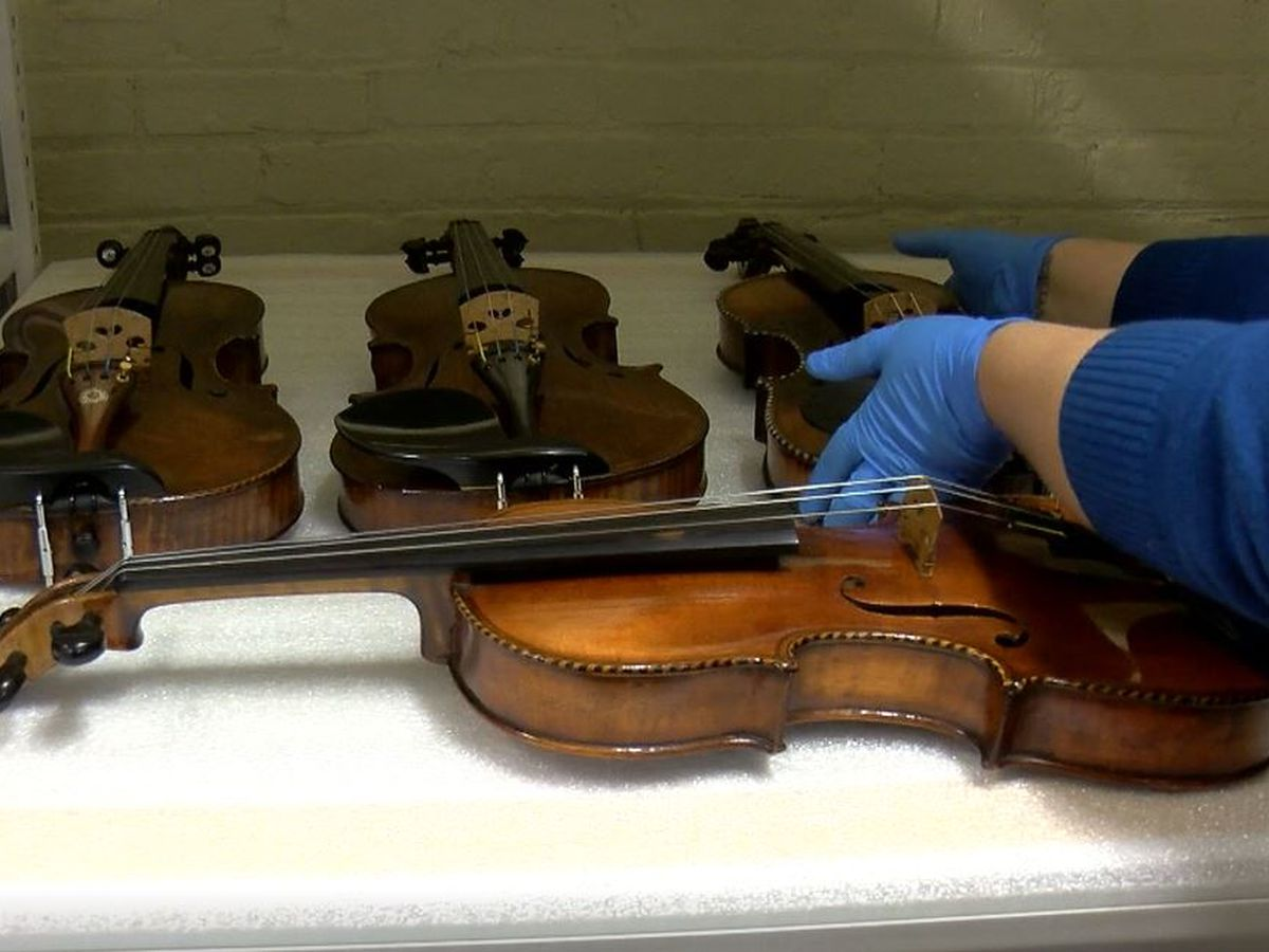 Violins of Hope make their way from World War II to Louisville