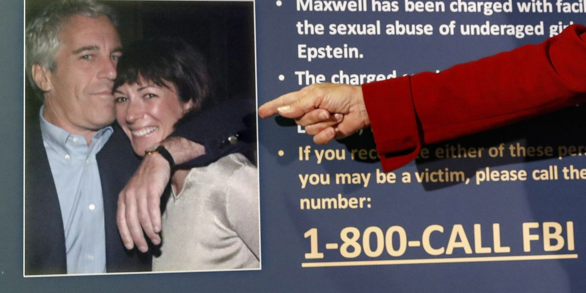 Official: Feds feared Epstein confidant might kill herself