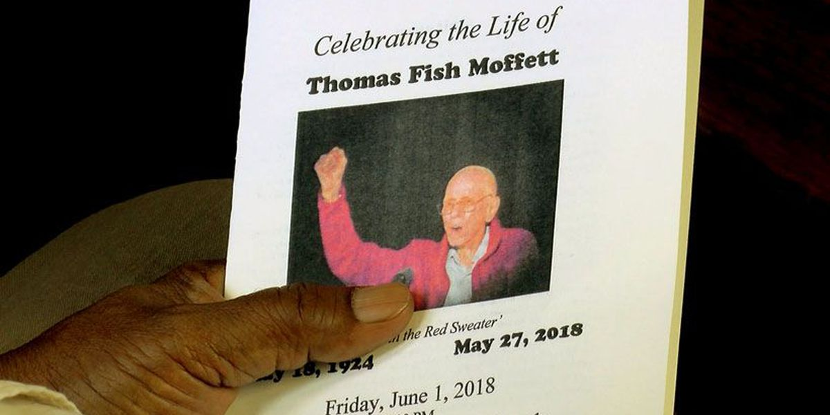 'Don't mourn, organize!': Human rights leader Tom Moffett laid to rest
