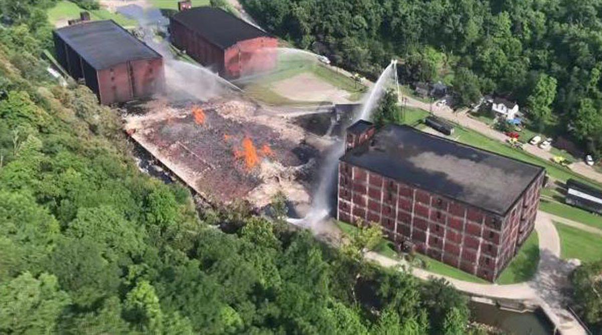 Jim Beam Warehouse Fire Fines