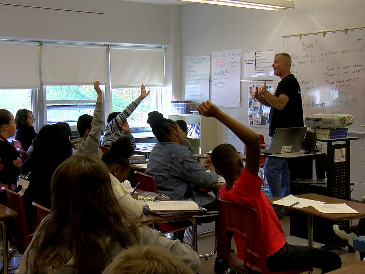 Veteran Army colonel takes on a new challenge in the classroom