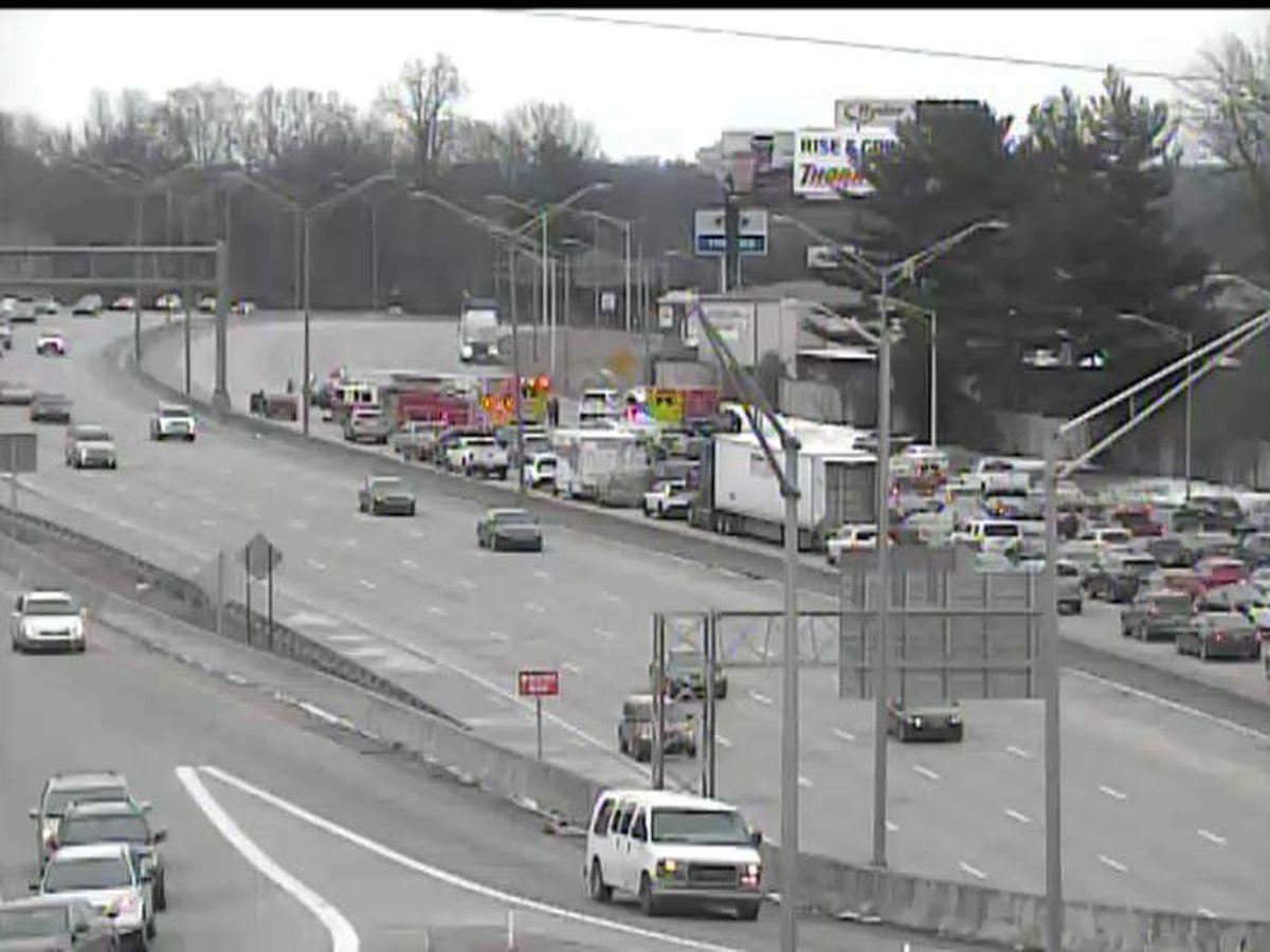 TRAFFIC ALERT: Multi-vehicle accident on I-264 East near Poplar Level Road exit