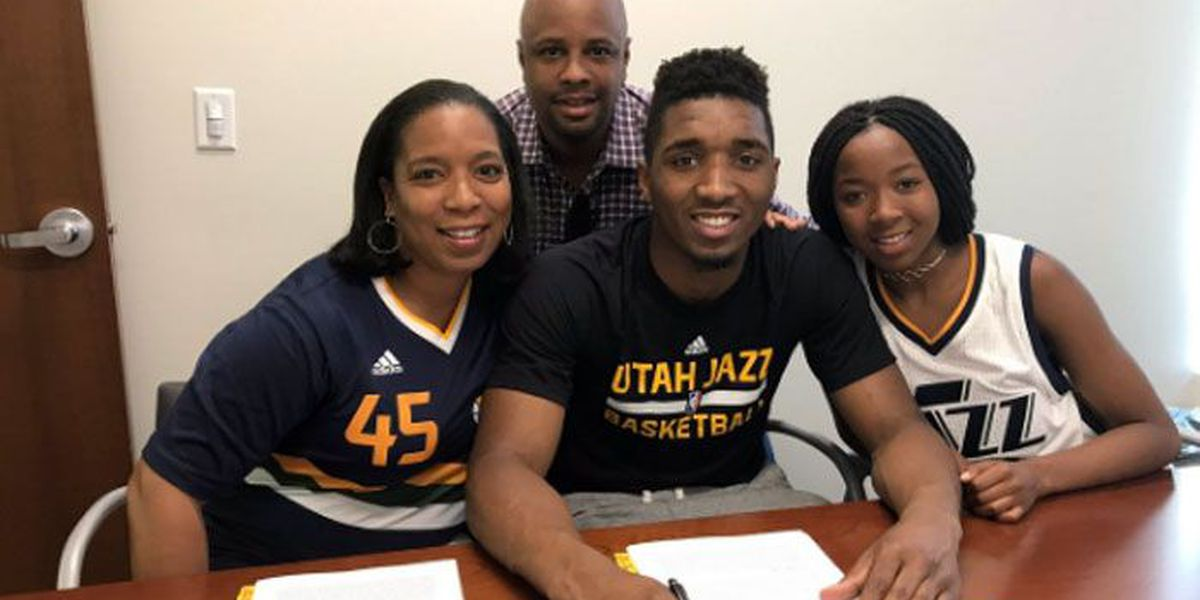 1 on 1: Donovan Mitchell, rookie NBA star finding his home in Utah