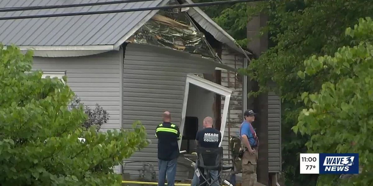 2 children, 2 adults injured in Meade Co. home explosion