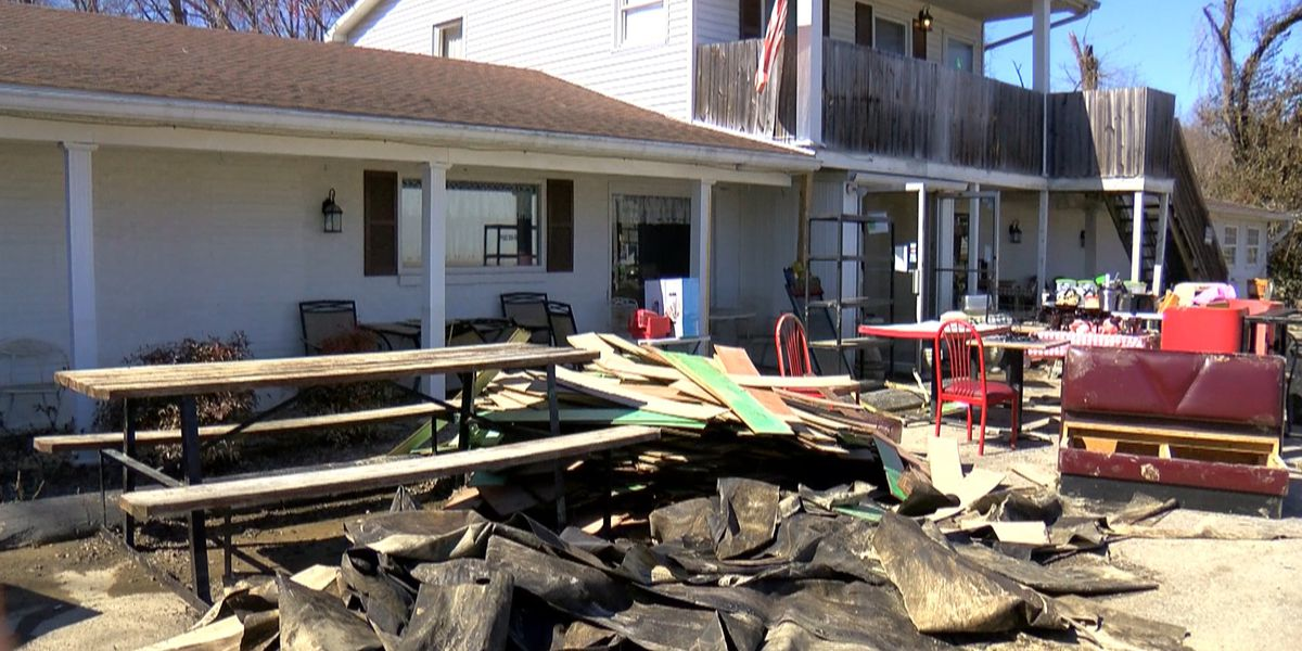 New Haven cleaning up after Rolling Fork floods parts of town