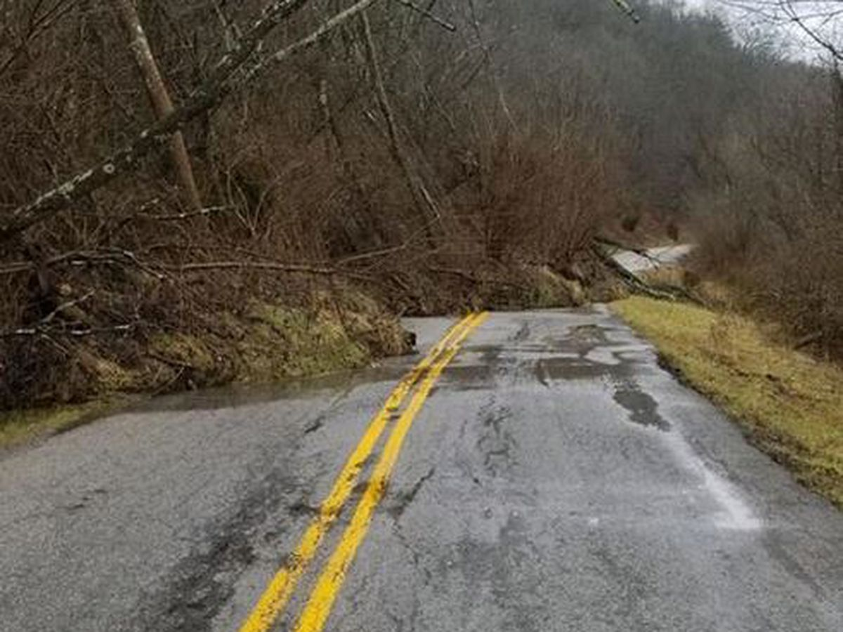Henry County roadway closed due to mudslide