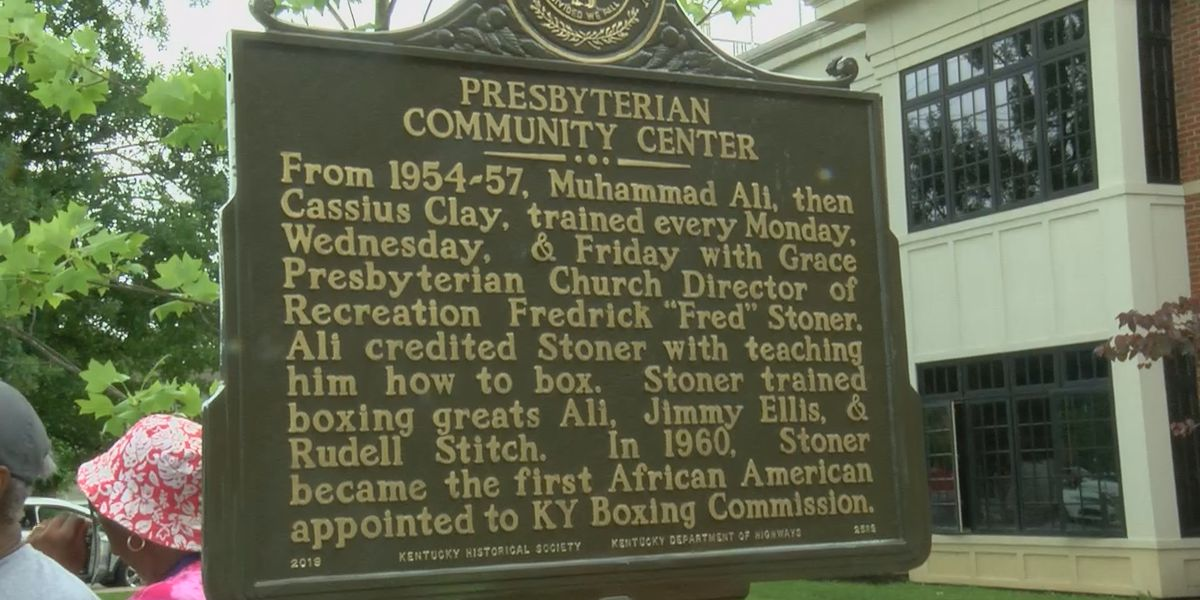 Former Muhammad Ali training ground honored with historical marker