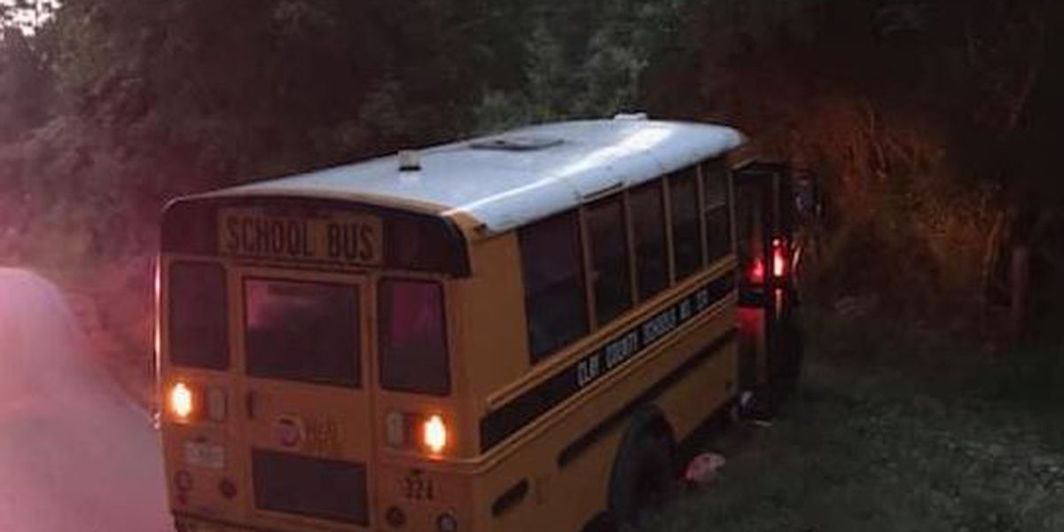 School bus stolen and ditched in Clay County
