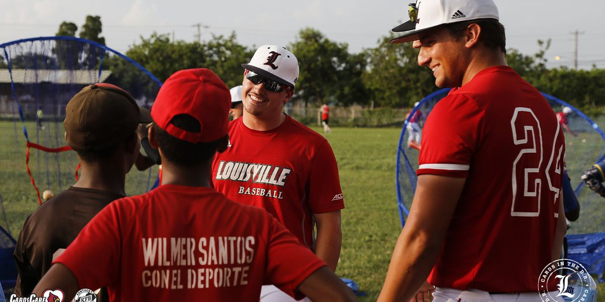 UofL Baseball goes to the Dominican Republic for games and community service