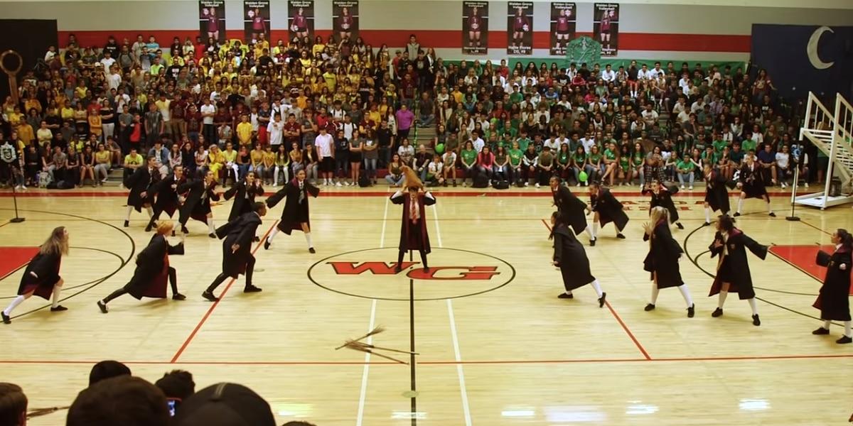 WATCH: Arizona high school's 'Harry Potter' dance is magical