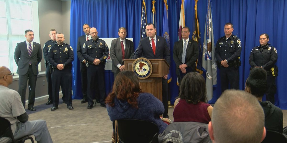 More than 100 defendants federally charged in crime reduction effort
