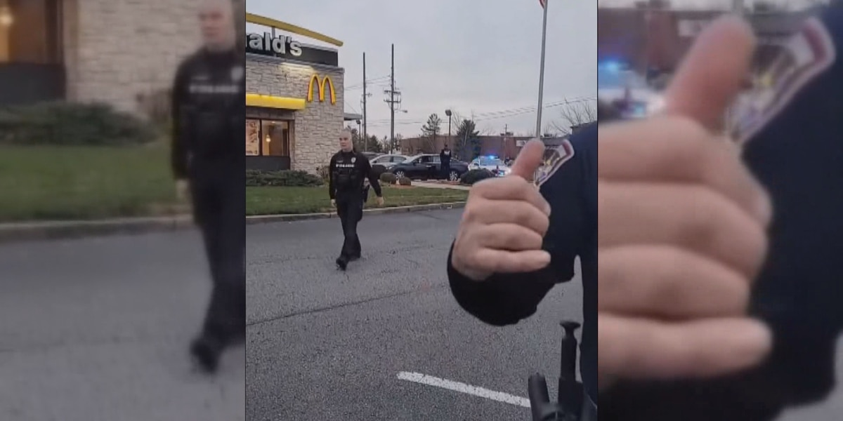 Livestreaming bystander hit and arrested during police situation in Jeffersontown
