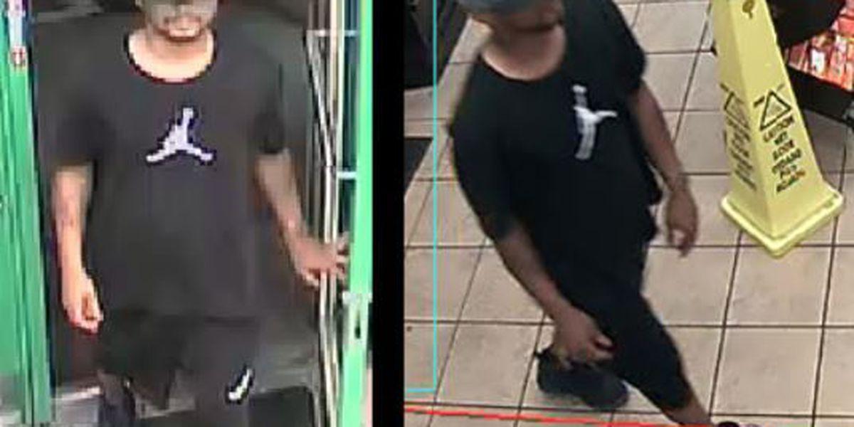 Investigators release photo of Circle K robbery suspect