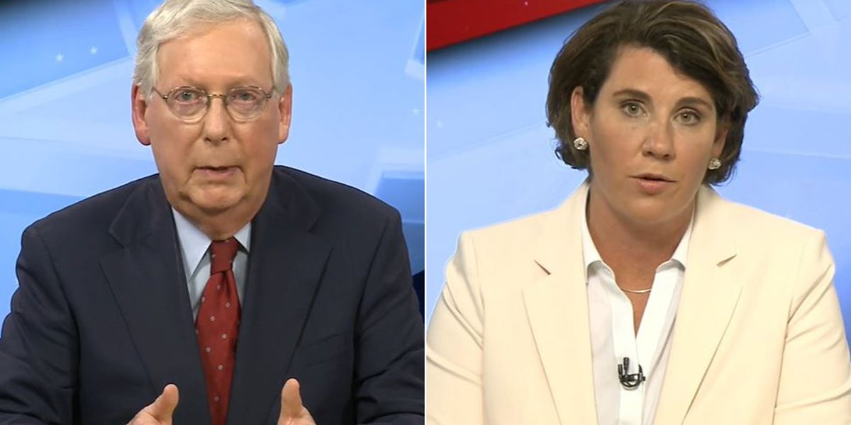 Senate Debate: McConnell, McGrath spar over COVID, term limits, packing the courts