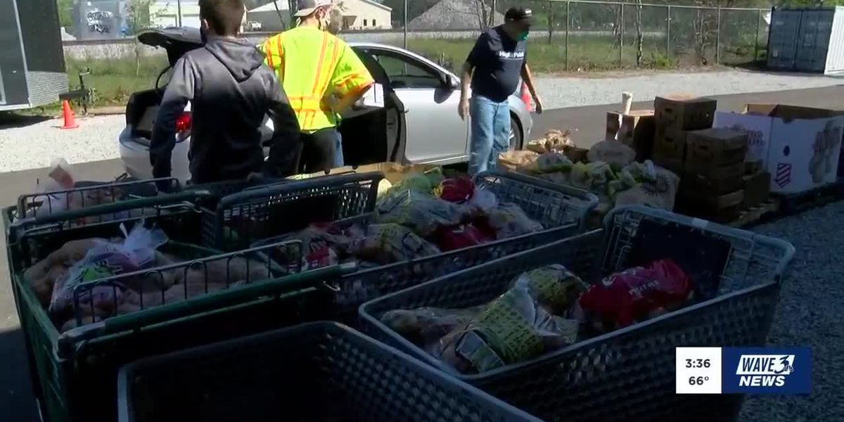 LaGrange church giving away meals to those in need
