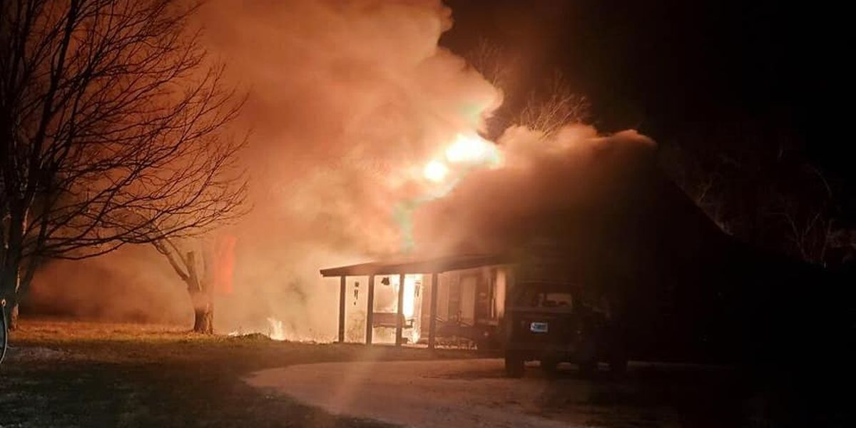 Overnight fire destroys home in Shelby County, officials investigating