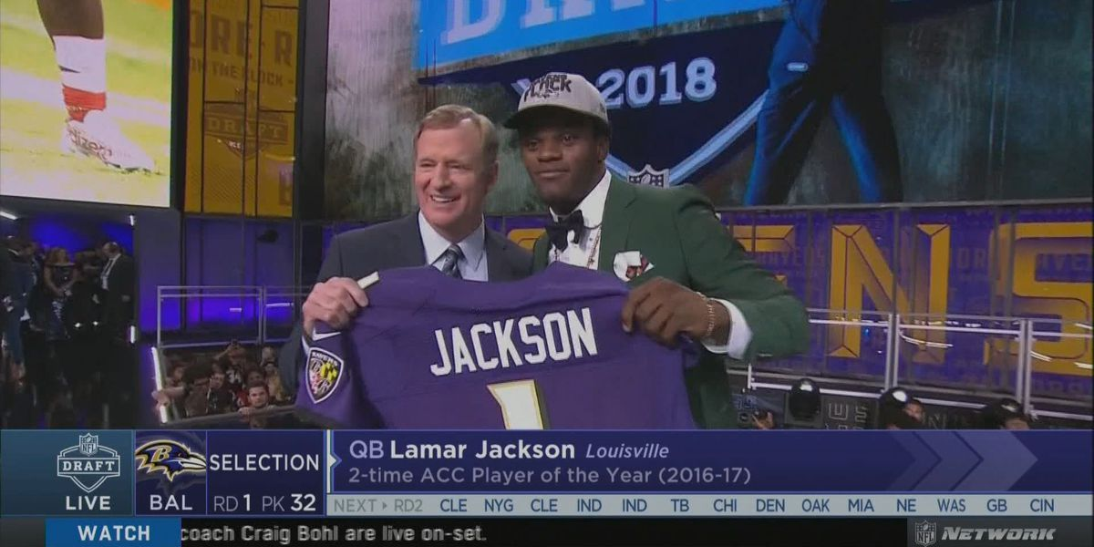 Alexander goes #18 to Packers, Jackson #32 to Ravens in NFL Draft