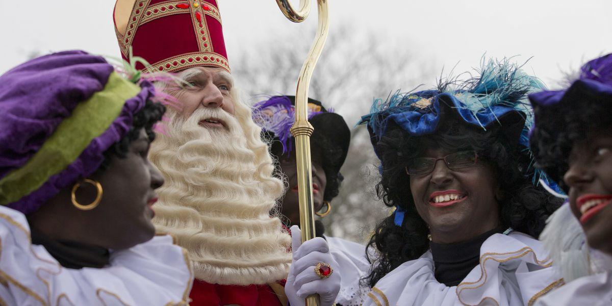 Parade welcomes Dutch St Nicholas amid debate over helper
