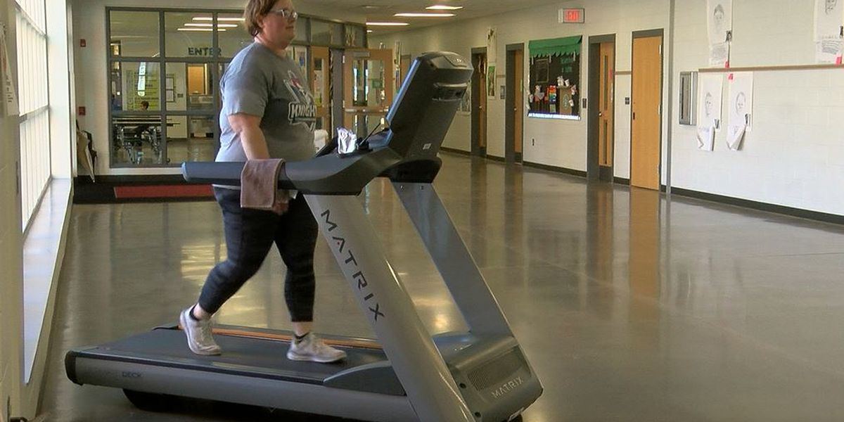 Positively WAVE: Principal spends entire Friday on treadmill
