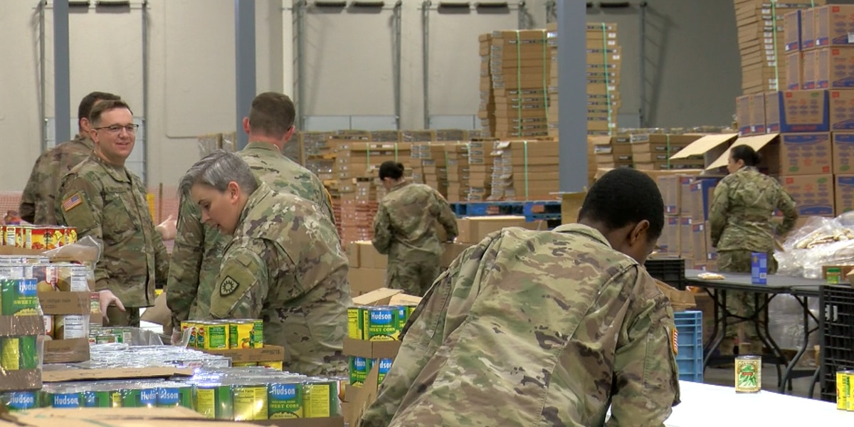 Dare to Care gets armed with National Guard help