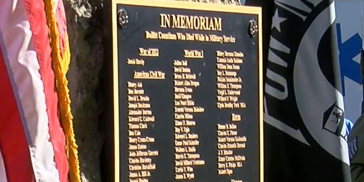 Plaque honors fallen Bullitt County military members