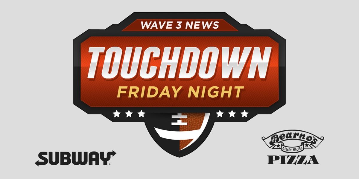 Touchdown Friday Night scoreboard